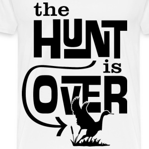 he hunt is over - Men's Premium T-Shirt