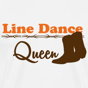 Line Dance Queen T-Shirts - Men's Premium T-Shirt