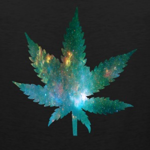 Galaxy Weed Cutoff - Men's Premium Tank