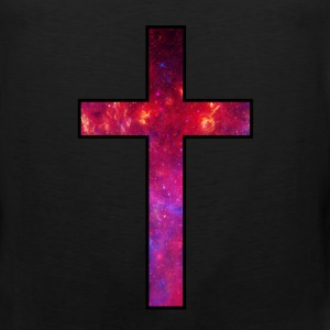 Galaxy Cross Red - Men's Premium Tank