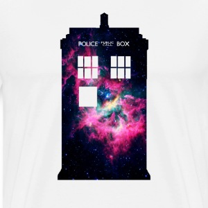 TARDIS Galaxy - Men's Premium T-Shirt
