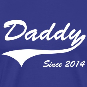 Daddy Since 2014 T-Shirts - Men's Premium T-Shirt