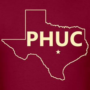 Men's Heavyweight Tee - PHUC Texas - Men's T-Shirt