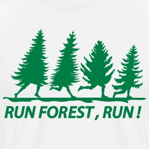 Run forest - Men's Premium T-Shirt