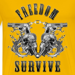 Freedom Survive T-Shirts - Men's Premium T-Shirt