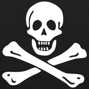 Jolly roger Pirate flag Tank Tops - Men's Premium Tank