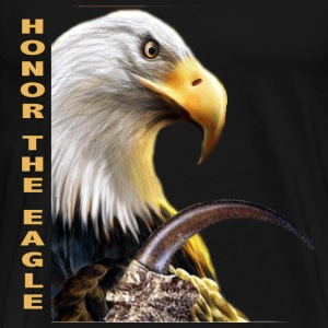 HONOR THE EAGLE CLAW - Men's Premium T-Shirt
