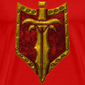 Legion Of Heroes - Horde Tabard - Men's Premium T-Shirt