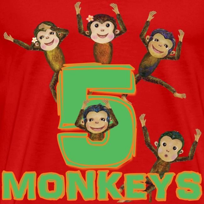 5 Monkeys for men