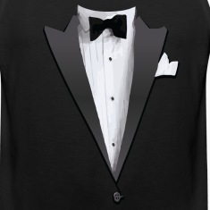 Tuxedo Jacket Costume T-shirt Tank Tops