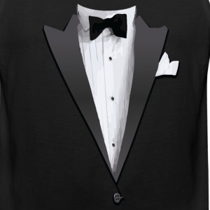 Tuxedo Jacket Costume T-shirt Tank Tops - Men's Premium Tank