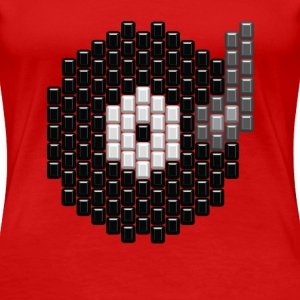 Vinyl Record Beads - Women's Premium T-Shirt