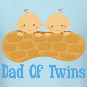 Dad Of Twins (baby boys) T-Shirts - Men's T-Shirt