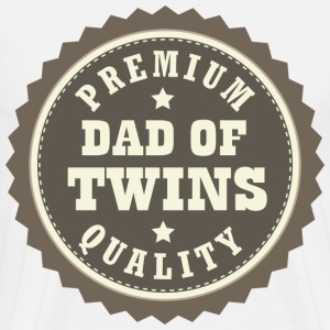 Dad Of Twins (Premium Quality) T-Shirts - Men's Premium T-Shirt