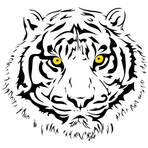 Tiger - Piercing Eyes