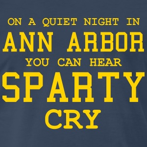 Quiet night in Ann Arbor T-Shirts - Men's Premium T-Shirt