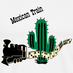 Mexican Train NEW T-Shirts - Men's Premium T-Shirt