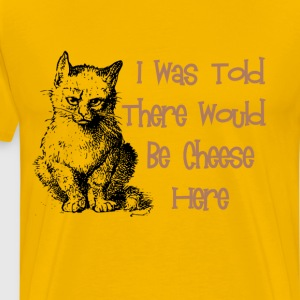 Cat & Cheese T-Shirts - Men's Premium T-Shirt