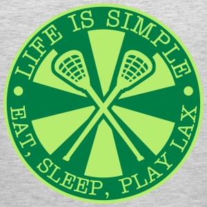 Eat, Sleep, Play LAX Tank Tops - Men's Premium Tank