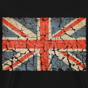 UK Flag Distressed - Men's Premium T-Shirt