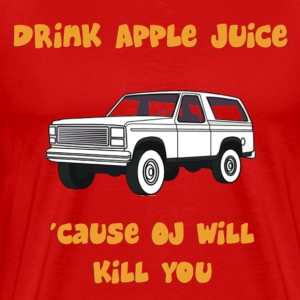 Drink Apple Juice T-Shirts - Men's Premium T-Shirt