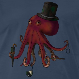 Sir Octopus - Men's Premium T-Shirt