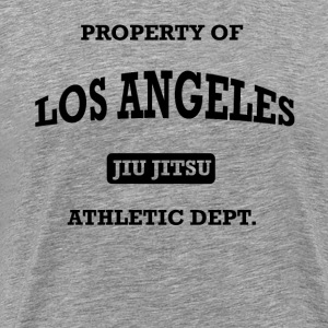 Property of Los Angeles Jiu Jitsu Athletic Dept - Men's Premium T-Shirt