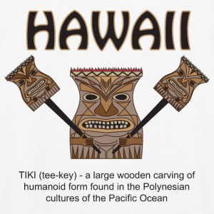 Hawaii Tiki - Men's Premium Tank