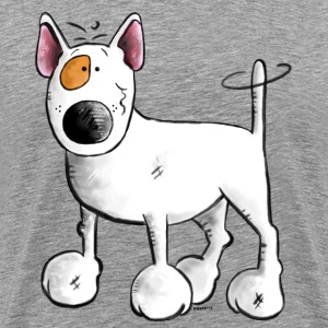 Funny English Bull Terrier- Bullterrier T-Shirts - Men's Premium T-Shirt