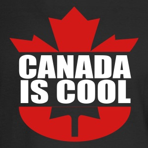 Black Canada is Cool Long Sleeve Shirts - Men's Long Sleeve T-Shirt