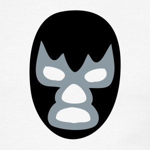 White/black luchador T-Shirts - Men's Ringer T-Shirt
