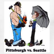 Design ~ Pittsburgh Vs Seattle Ringer