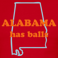 Design ~ ALABAMA has balls