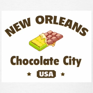 New Orleans (chocolate city) - Men's T-Shirt