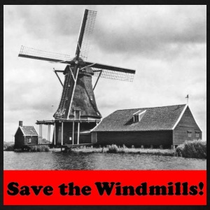 Save the Windmills - Men's T-Shirt