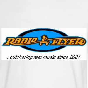 White radio_flyer_buthering Men - Men's Long Sleeve T-Shirt