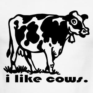 I Like Cows T-Shirts - Men's Ringer T-Shirt