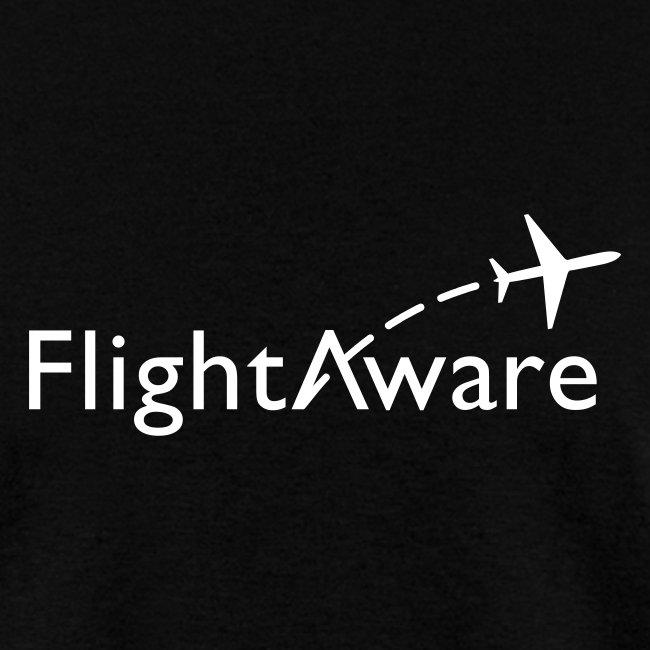 FlightAware Black Tee