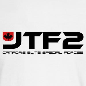 White JTF2 Long Sleeve Shirts - Men's Long Sleeve T-Shirt