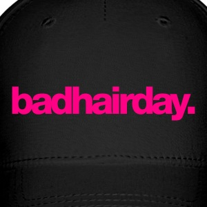 Black Badhairday Cap - Baseball Cap