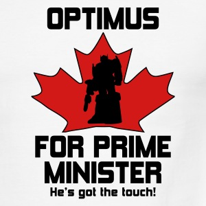 Optimus for PM! - Men's Ringer T-Shirt
