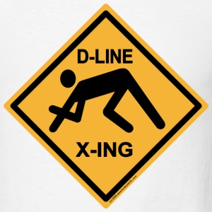 D-Line-Sign - Men's T-Shirt
