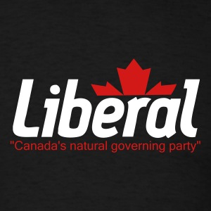 Black Liberal T-Shirts - Men's T-Shirt