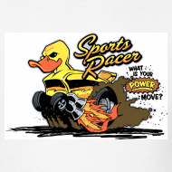 Design ~ duckie hotrod - white