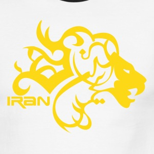 Persian Lion - Men's Ringer T-Shirt
