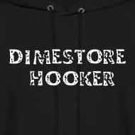 Design ~ Dimestore Hooker Black Hoodie Sweat Jacket
