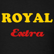 Design ~ ROYAL EXTRA T-SHIRT - IZATRINI.com
