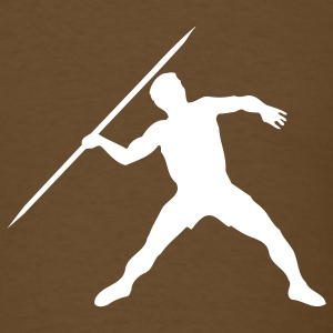 Brown javelin T-Shirts - Men's T-Shirt