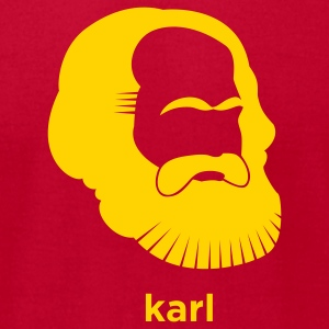 Karl Marx T-Shirts - Men's T-Shirt by American Apparel