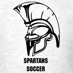 Ash  trojans or spartans custom sports graphic T-Shirts